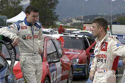 Markko Martin and Sébastien Loeb