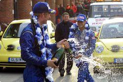 Bataille de champagne !