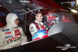 Daniel Elena and Sébastien Loeb