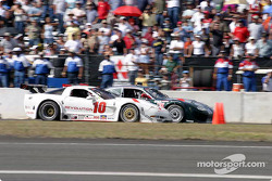 Scott Pruett and Bobby Sak