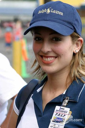 Puerto Rico Grand Prix hostess