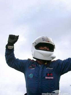 Wally Castro, vainqueur de la course