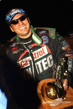 Tony Pedregon was the winner of the Funny Car class