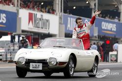 Drivers parade: Olivier Panis