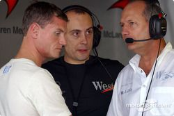 David Coulthard y Ron Dennis