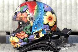 Flower power helmet