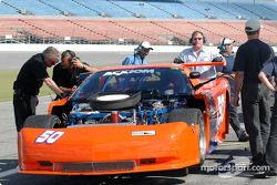 #50 Team Amick Motorsports Corvette: David Amick, Lyndon Amick