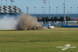 La #5 Essex Racing Ford Multimatic de Joe Pruskowski et Justin Pruskowski a des ennuis