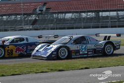 #58 Brumos Racing Porsche Fabcar: David Donohue, Mike Borkowski, and #54 Bell Motorsports Chevrolet