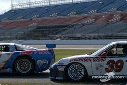 #05 Team Re / Max Racing Corvette: John Metcalf, Rick Carelli, David Liniger, and #39 Stevenson Motorsports / Auto Assets Porsche GT3 RS: Chip Vance, John Stevenson