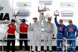 DP podium: race winners Terry Borcheller, Forest Barber, with Didier Theys and Bill Auberlen, David