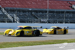 #9 Mears Motor Coach Ford Multimatic: Paul Mears Jr., Joe Varde, et #6 Gunnar Racing Porsche Gunnar GT1: Milt Minter, Chad McQueen, Gunnar Jeannette