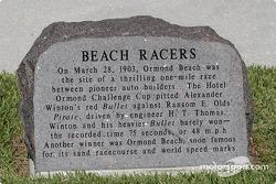 Beach racers monument