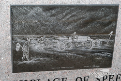 Detail of etching on second monument