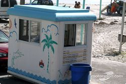 Toll Booth to drive on beach