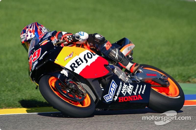 2003: Repsol Honda, 5º no campeonato (130 pts), 2 pódios, 16 corridas