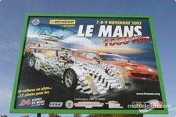 Bienvenue aux 1000km du Mans !