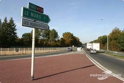 Mulsanne : où sont les voitures de course ?