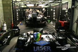 Les stands Lister Racing