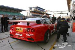 Entraînement aux arrêts au stand chez XL Racing