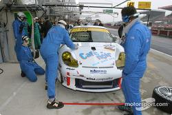 Pitstop practice at T2M Motorsport