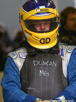 Duncan Dayton waits for his run