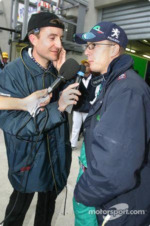 Interviews pour Sébastien Bourdais