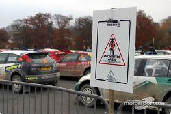 Parc fermé à Sennybridge