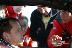 Freddy Loix and engineer Christian Deltombe