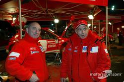 Jean-Pierre Nicolas y Corrado Provera