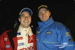 Sébastien Loeb et Petter Solberg