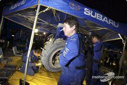 Le pneu éclaté de Petter Solberg
