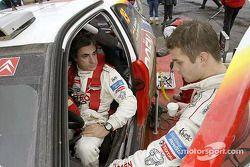Carlos Sainz et Sébastien Loeb