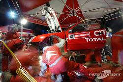 Team Citroën Sport service area