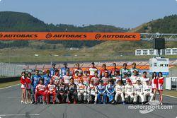 Des pilotes GT