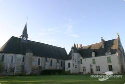 Motorsport.com's headquarters during the 2003 1000 KM of Le Mans: Le Prieuré in Dissay-sous-Courcillon