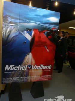 Présentation du Making of Michel Vaillant aux médias