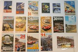 Des affiches de course