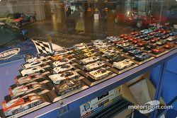 Des modèles réduits de voitures qui ont remporté Le Mans