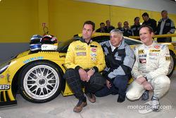 Toni Seiler, Franz Konrad et Wolfgang Kaufmann