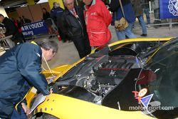 Moteur de la #31 RJ Cole Corvette C5