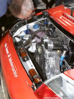 Moteur de la #40 Seikel Motorsport Porsche GT3-RS