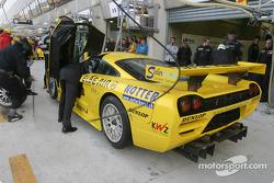 Entraînement aux arrêts au stand chez Konrad Motorsport