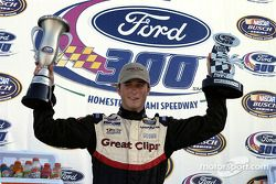 Kasey Kahne celebrates first win in Busch series