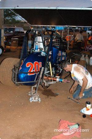 Préparations pour Rick Ziehl
