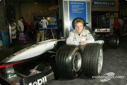Kimi Raikkonen presents the new Michelin Pilot Sport PS2