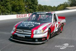 Joe Ruttman tests the Toyota Tundra NASCAR Craftsman Series Truck