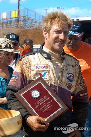 Rick Ziehl reçoit la récompense du fair-play