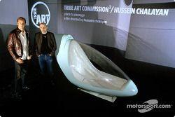 Tribe Art Commission2 ve Hassen Chalayan: Jenson Button ve Hassen Chalayan