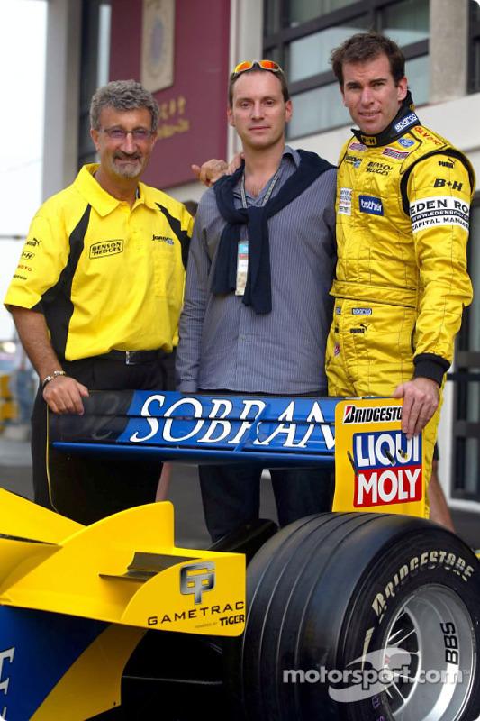Eddie Jordan, David Paysant et Ralph Firman